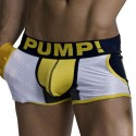 Jogger Frat Boy Boxer - White - Navy - Yellow