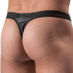 M104 Tower Thong - Black Manstore