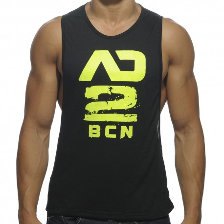 Addicted 2 BCN Low Rider Tank Top - Black