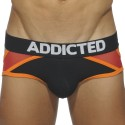 Contrast Jock Brief - Black - Red