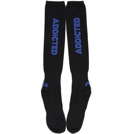 Fetish Socks - Black - Blue
