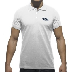 Polo Basic Plain Blanc ES Collection