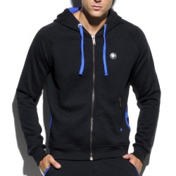 Veste Hoody Padded Noire ES Collection
