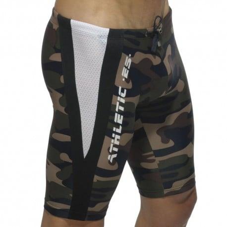 Running Bermuda Shorts - Camouflage