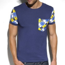 T-Shirt Modal Pocket Marine ES Collection