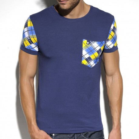 Modal Pocket T-Shirt - Navy