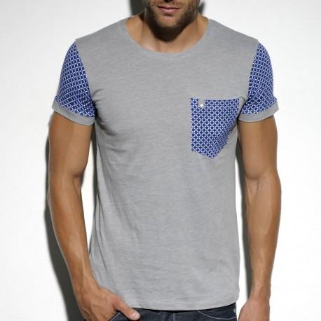 T-Shirt Coton Supima Gris