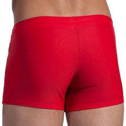 Boxer de Bain Beachpants BLU 1200 Rouge Olaf Benz