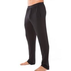 Pantalon Silk Modal Noir Calvin Klein