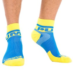 Lot de 2 Paires de Chaussettes All-Sport Spring Break Royal - Jaune Pump!