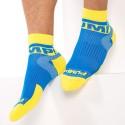 2-Pack All-Sport Spring Break Socks - Royal - Yellow
