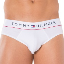 Slip Flex Cotton Blanc Tommy Hilfiger