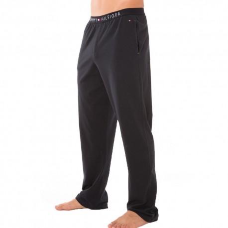Icon Cotton Pants - Black