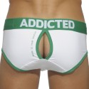 South Brief - White - Green