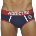 South Brief - Navy - Red