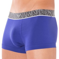 Boxer All Over Logo Elastic Band Royal Emporio Armani