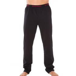 Pantalon Stretch Cotton Noir Emporio Armani