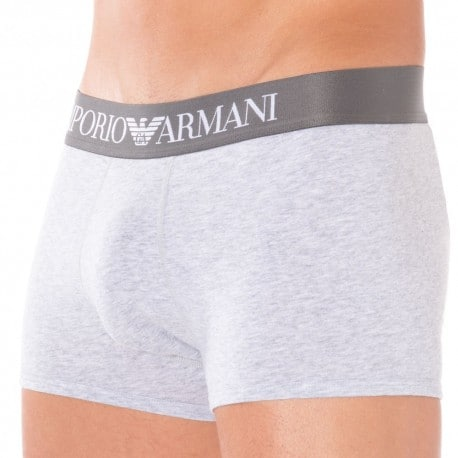 Boxer Stretch Cotton Gris