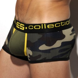 Shorty Mesh Military Camouflage Jaune ES Collection