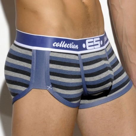 Combi Stripe Boxer - Black