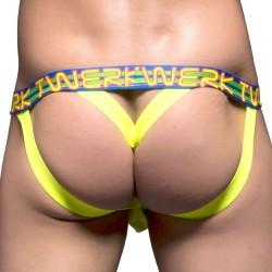 Jock Strap Y-Back Twerk Show-It Citron Vert Andrew Christian