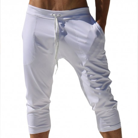 Chakra Yoga Pants - White