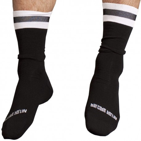 City Socks - Black - White