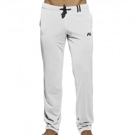 Loop Mesh Pants - White