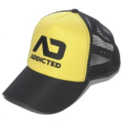 Casquette Fetish Jaune Addicted