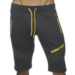 American Fleece Knee Pants - Charcoal Addicted