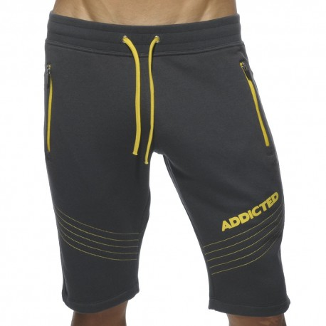 American Fleece Knee Pants - Charcoal