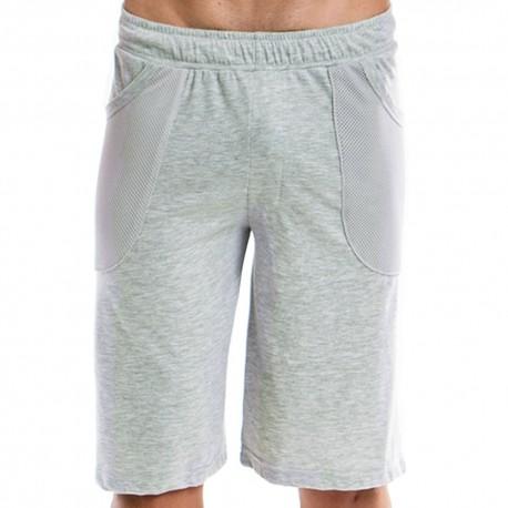 Amalgam Bermuda Shorts - Grey
