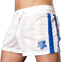 Short Mesut Blanc Barcode