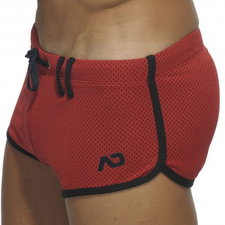 Loop Mesh Short - Red