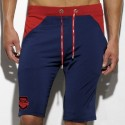 Combi Knee Pants - Navy - Red