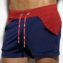 Short Combi Marine - Rouge