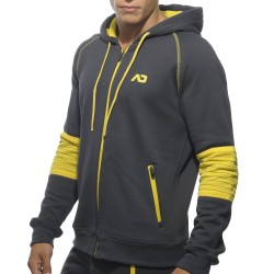Veste American Fleece Grise Addicted