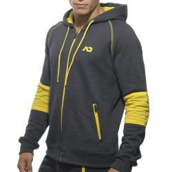 American Fleece Jacket - Charcoal Addicted