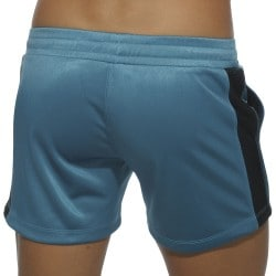 Short Badge Sport Bleu Canard Addicted
