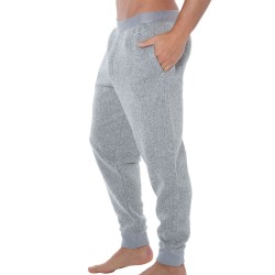 Pantalon Plush Fleece Gris Calvin Klein