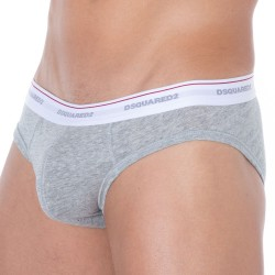 Slip Jersey Cotton Stretch Gris DSQUARED2