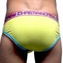 Coolflex Tagless Brief with Show-It - Lime