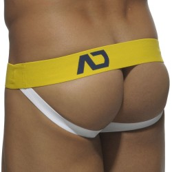 Jock Strap Basic Colors Marine - Jaune Addicted