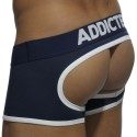 Basic Colors Empty Bottom Boxer - Navy