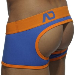 Shorty Empty Bottom Basic Colors Royal - Orange Addicted
