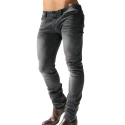 Pantalon Jeans Marvin Noir Rufskin