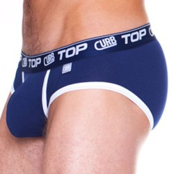 Slip Identity Enhance Top Marine - Blanc Curbwear