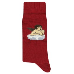 Chaussettes Angel - Rouge JPP