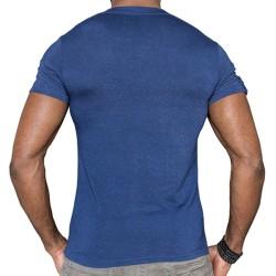 T-Shirt Challenge Bleu TOF