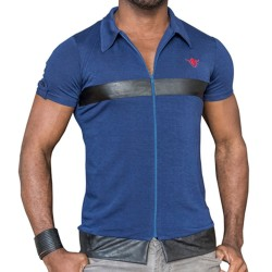 Veste Seduction Deluxe Bleue TOF